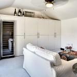 How to convert an open garage in an outdoor room