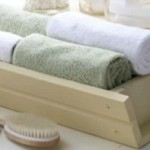 How to fold bathroom towels decoratively
