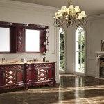 How to convert an antique at a bathroom vanity