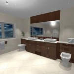 How to install a domestic bathroom