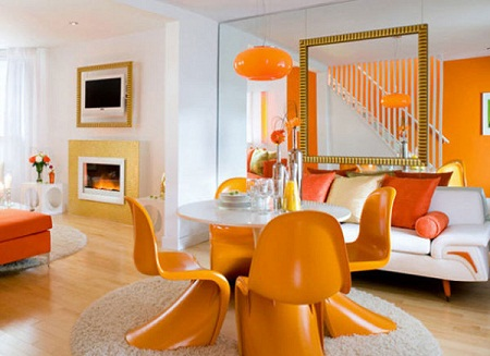 Ideas for an orange chair