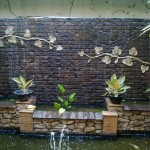 Placing a brick wall in your garden