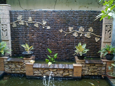 brick wall in your garden