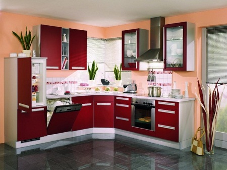 colors for small kitchens