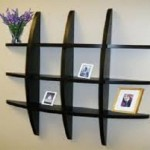How to decorate a wall in the corner