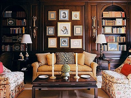 How to decorate a study room and living room