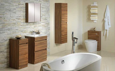 Ideas for a niche tiles in the bathroom