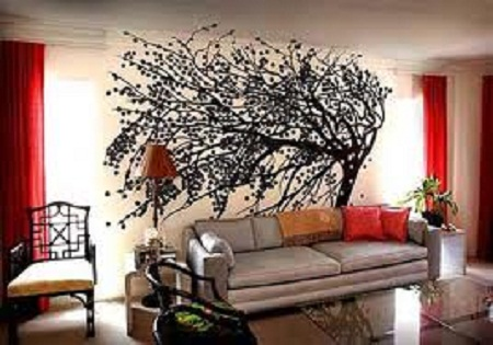 Materials for wall decoration