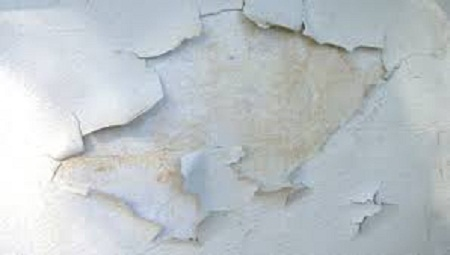 How to fix peeling paint on the walls