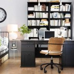 The right way to organize office at a bedroom.