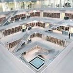 Modern libraries: many ideas for decorating