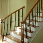 How to replace new columns and handrails for stairs