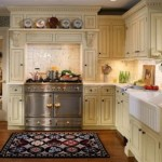 How to decorate the kitchen without hanging