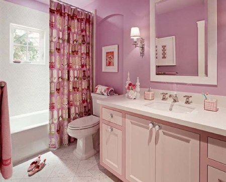 How to decorate a pink bathroom Pink bathroom ideas pictures