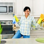 How to clean the kitchen with lemon