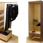 How to organize a small wardrobe