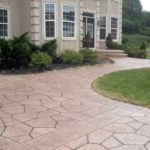 Stamped Concrete Is A Gorgeous Home Renovation With Resale Value