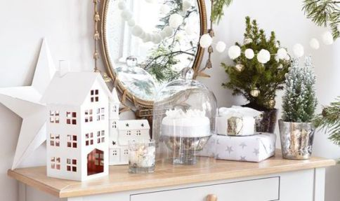 christmas-decoration-on-white