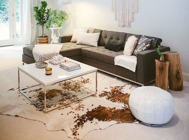 The Eco-Friendly Cowhide Rug